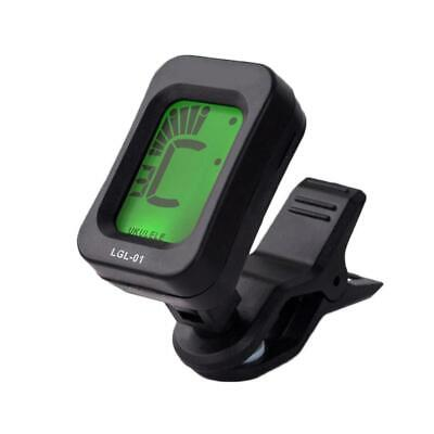 AU5.25 • Buy Chromatic Guitar Tuner Violin Ukulele Bass LCD Electronic Digital Clip On