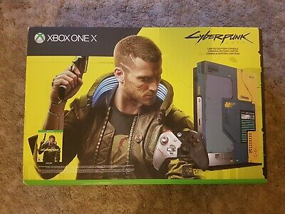 $440 • Buy Microsoft Xbox One X 1TB Cyberpunk 2077 Limited Edition Console (NTSC)