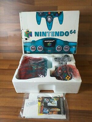 Boxed Nintendo 64 Crystal Blue Console New Old Stock Mint Collectable Condition  • 399.99£