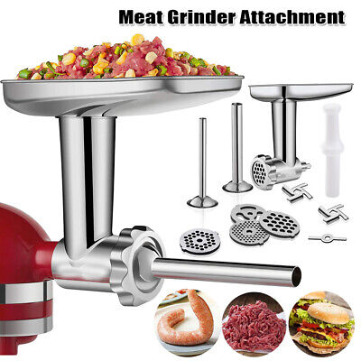 £21.79 • Buy Food Meat Grinder Mincer Attachment Parts For KitchenAid Stand Mixer Accessory