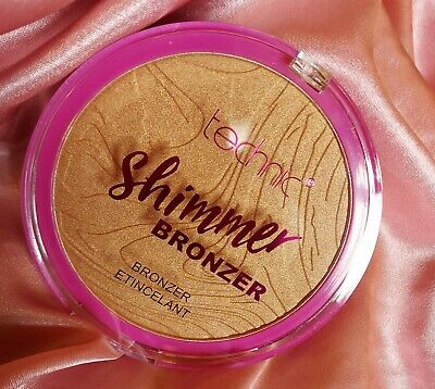 Technic Large Shimmer Bronzer Bronzing Pressed Powder Compact Body Face 25g  • 5.99£