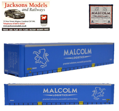 £8.50 • Buy Oxford 76CONT003 Container Load W H Malcolm 1:76 Scale