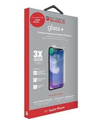 AU11.02 • Buy Zagg InvisibleShield Glass+ Screen Protector For IPhone 6 6s 7 8 2020 SE