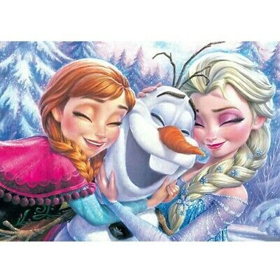 AU12.99 • Buy 5D Frozen Sisters Full Drill Diamond Painting Cross Stitch Kits Home Arts Gifts