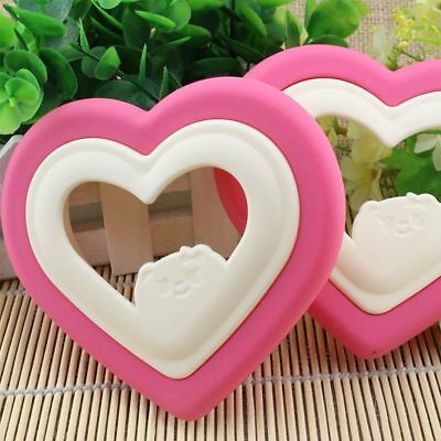 ~Heart Shape Sandwich Bread Toast Cake Mold Mould Cutter DIY Kitchen Tool UK • 3.39£