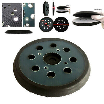 125mm 8 Hole Backing Disc Sanding Pads Hook Loop For Makita Random Orbit Sander • 5.15£