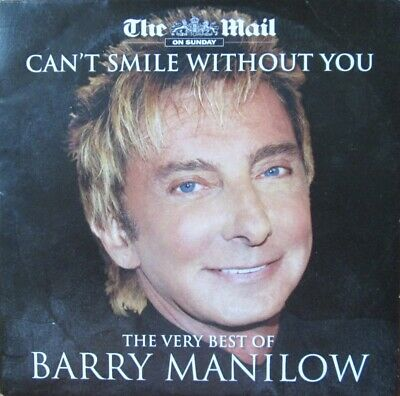 The Very Best Of Barry Manilow Cd Music Cant Smile Without You Mandy Stay • 1.24£