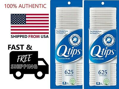 $ CDN20.24 • Buy X2 BOX QTIPS Q-TIPS Q-TIP COTTON SWABS 1250 Count AUTHENTIC GENUINE ORIGINAL BUD