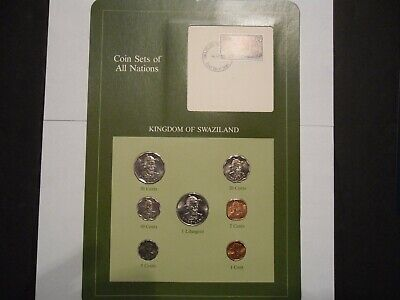 $12.99 • Buy Coins Sets Of All Nations Swaziland Franklin Mint