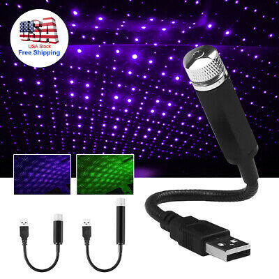 $ CDN11.72 • Buy USB Car Accessories Interior Atmosphere Star Sky Lamp Ambient Star Night Lights