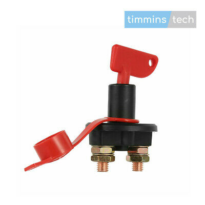 12V/24V Battery Isolator Switch - Cut Off Kill Switch - 200A Cont 1000A Cranking • 9.95£