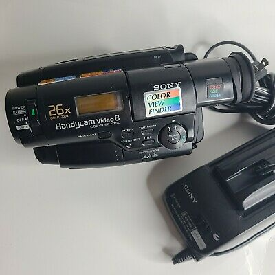 $ CDN253.79 • Buy Sony Handycam CCD-TR66 8mm Video8 Camcorder VCR Player Camera Video Transfer