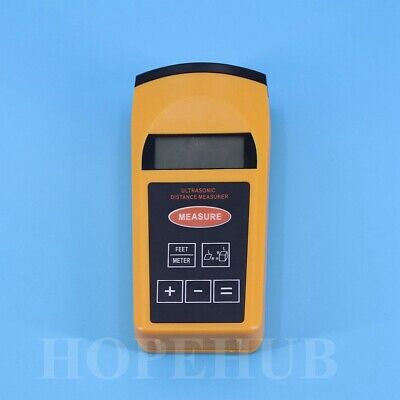 New Meter/ Feet Measuring Tool Laser Digital Ultrasonic Distance LCD • 15.24£