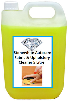 Stonewhite Carpet Shampoo 5Ltr Fabric Cleaner Stain Remover Low Foaming • 9.59£