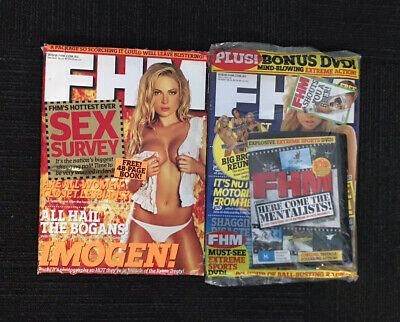 AU10 • Buy FHM Magazines X (2) Copies September 05, October 2005 Limited Stock Available
