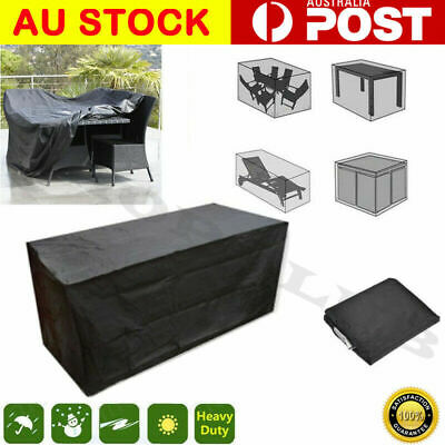 AU33.99 • Buy AU Waterproof Garden Furniture Table Cover Outdoor Patio Rain Snow Chair Shelter