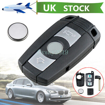 £7.97 • Buy For BMW 1 3 5 6 7 Series X5 X6 Z4 3 Button Remote Key Fob Case Repair + Battery
