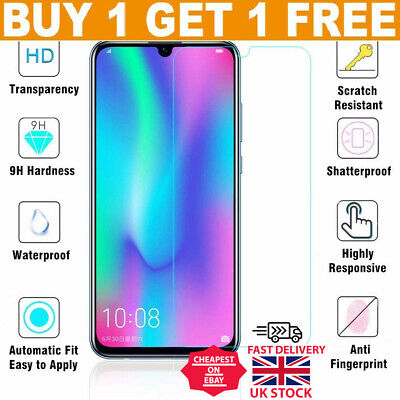 For Huawei P20 Pro Lite P30 Premium Protection Tempered Glass Screen Protector • 1.98£