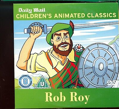 £1.20 • Buy Childrens Animated Classics -  Rob Roy / Daily  Mail Promo DVD