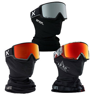 AU290.77 • Buy Anon M3 Mfi Goggle With Skiing Mask Snowboard Ski Facemask Snow Glasses