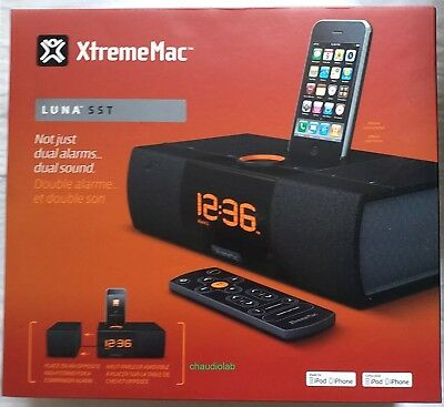 AU65.58 • Buy New XtremeMac IPhone/iPod LUNA SST Alarm Clock Docking Station