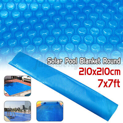 £30.52 • Buy 7' Round Spa Hot Tub Swimming Pool Cover 400μm Solar Bubble Thermal Blanket