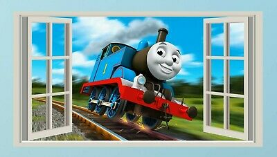 £3.99 • Buy Thomas The Tank Engine,Sticker,Kids,Decal,Bedroom,3d,Wall Art,Mural
