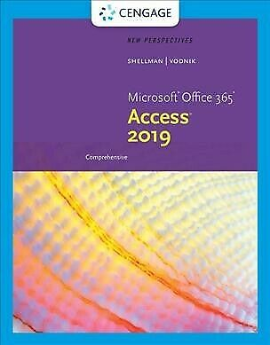 AU230.19 • Buy New Perspectives Microsoft Office 365 & Access 2019 Comprehensive, Paperback ...