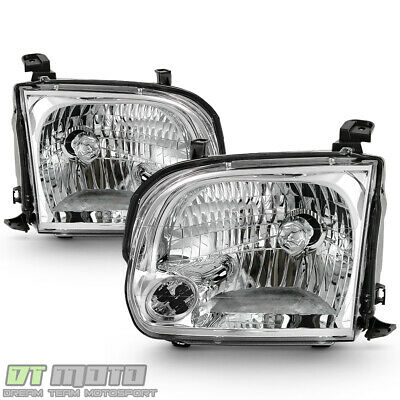 $98.99 • Buy For 2005-2006 Toyota Tundra Double Cab 05-07 Sequoia Headlights Headlamps Pair