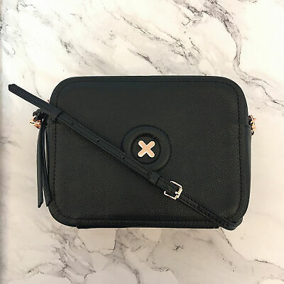 AU113.59 • Buy FREE POST MIMCO BLACK ROSE GOLD DAYDREAM HIP BAG Crossbody Handbag BNWT RRP$199