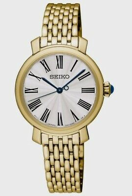 Seiko Ladies Gold Plated Watch  SRZ498P1 SQNP • 75£
