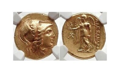 £6881.07 • Buy Alexander The Great - Gold Stater NGC Certified