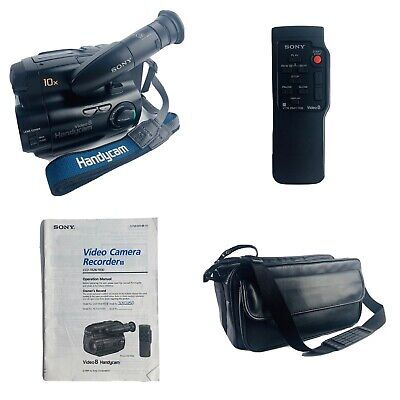 $ CDN255.06 • Buy Sony Handycam CCD-TR30 8mm Video8 Camcorder VCR Player Camera Video Bundle