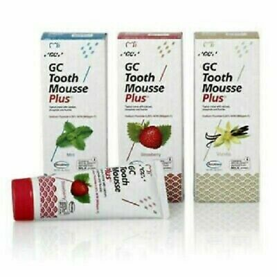 AU38.67 • Buy GC Tooth Mousse Plus For Calcium Phosphate & Fluoride Tooth