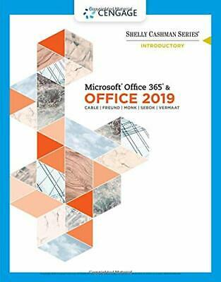 AU111.06 • Buy Shelly Cashman Series Microsoft Office 365 & Of, Cable, Monk, Freund, Sebok,,.