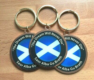 The Dream Will Never Die  Keyring ~ **ONLY £3.95** & FREE UK POST • 3.95£