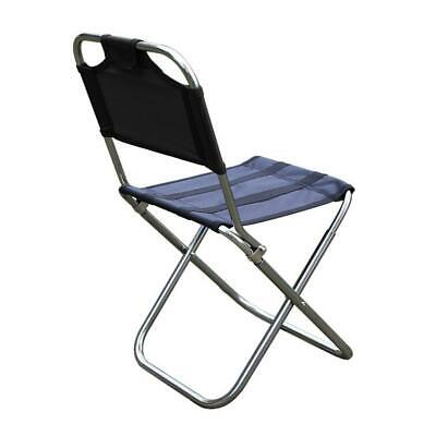 Outdoor Folding Chair 7075 Aluminum Alloy Fishing Camping Chair BBQ Stool • 14.27£