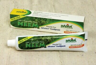 Neem Advanced All Natural Toothpaste (Halal -Madina Brand) (Vegan-animal Free) • 3.57£