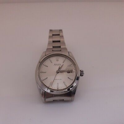 $ CDN3756.87 • Buy Vintage Rolex OysterDate Precision 34mm Steel Manual Silver Watch 6694 Year 1964