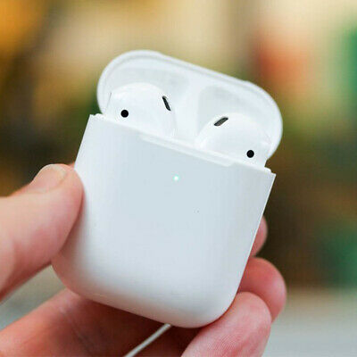 $ CDN70.68 • Buy Refurbished Airpods 2nd Gen Bluetooth Earbuds With Wireless Charging Case