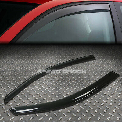 $18.99 • Buy For 00-06 Focus Zx3 Hb Smoke Tint Window Visor Shade/sun Wind/rain Deflector