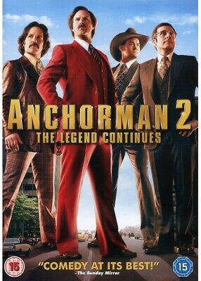 £1.79 • Buy Anchorman 2: The Legend Continues (DVD, 2013)