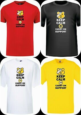 Children In Need T-Shirts In Spotted, Bear Pudsey Tee 15% BBC Charity Keep Calm • 6.99£