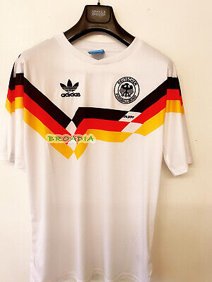 1990 West Germany Home Retro Soccer Football Shirt Jersey Vintage  Edition • 21.95£