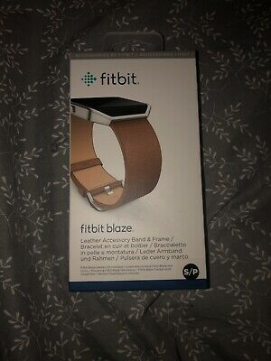 $ CDN50 • Buy Fitbit Blaze Leather Watch Band Large Accessory Replacement  Brown Size S/P