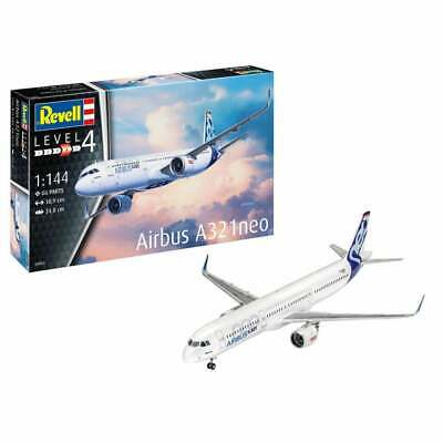 Revell 04952 1:144 Airbus A321 NEO (New Tool) Aircraft Model Kit • 19.95£