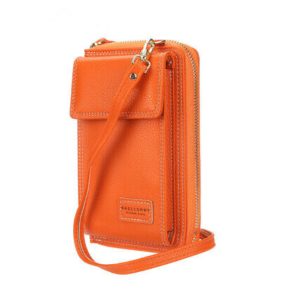 AU24.99 • Buy Small Women Leather Crossbody Bag Phone Bag Multifunction Purse Wallet Handbags
