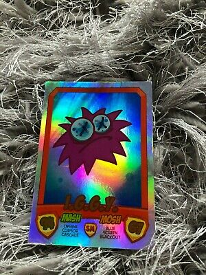 Moshi Monsters Mash Up S2! **RAINBOW** Foil - IGGY Ultra Rare! Moshlings Card • 24£