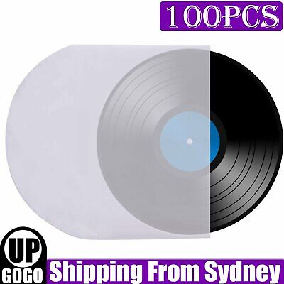 AU19.49 • Buy 100pcs Sleeves Inner LP Music Durable For 12  Vinyl Record Plastic Record Cover