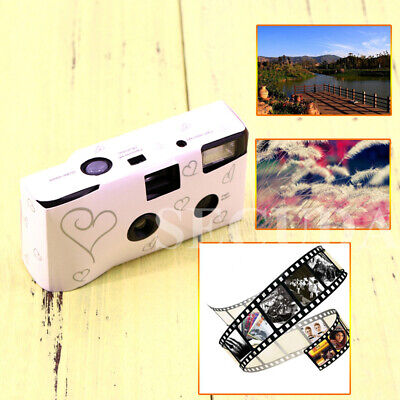 Brand New Disposable Camera With Flash White 36 Photo • 16.86£